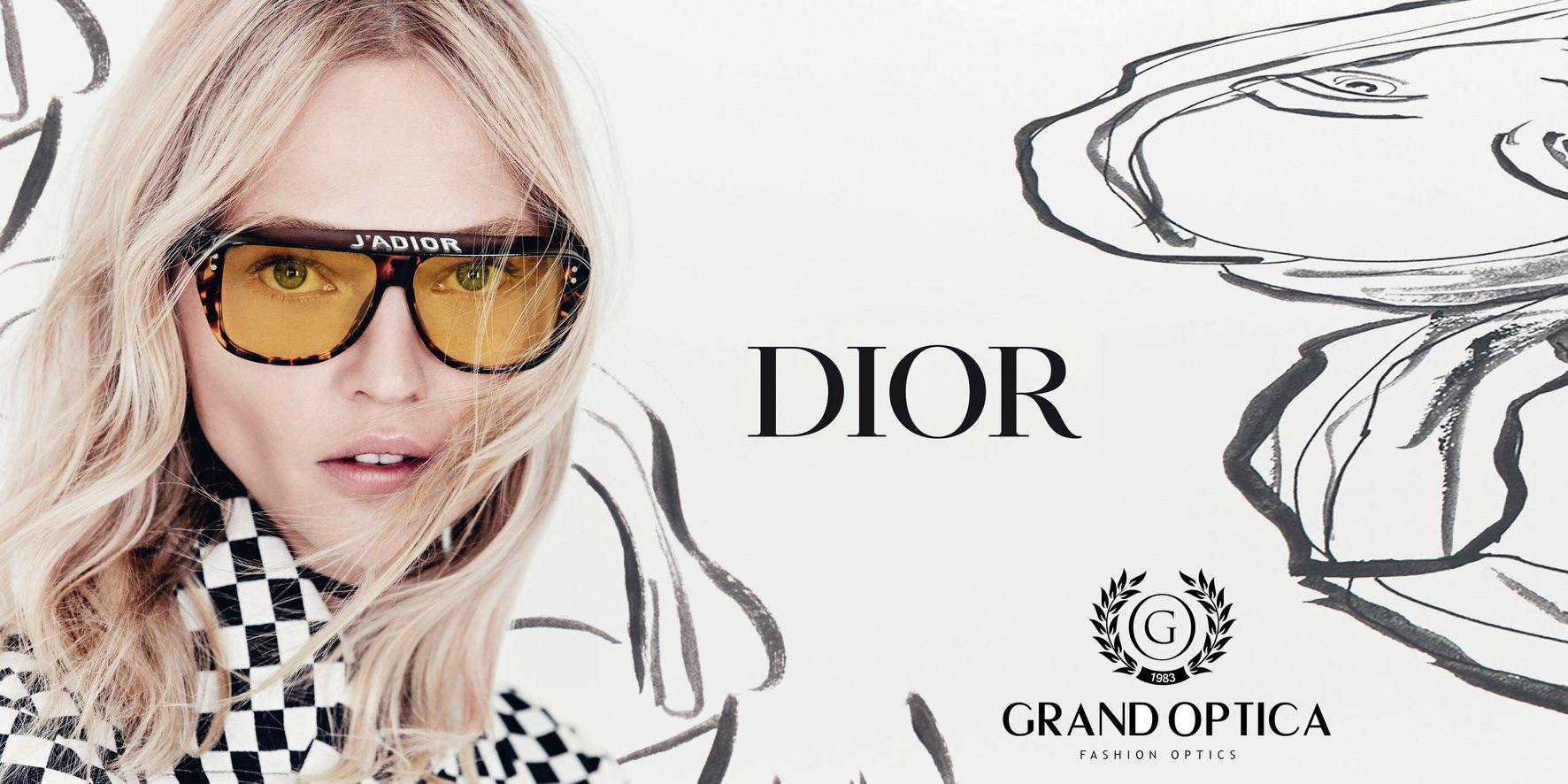 Grand Optica - главный дистрибьютор Dior в Молдове